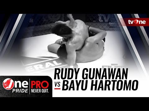 One Pride MMA #2: Rudy Gunawan VS Bayu Hartomo