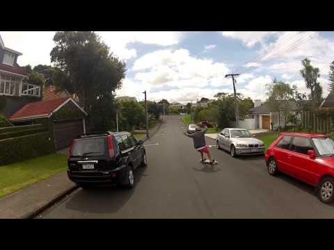 A typical week of Longboarding in Auckland NZ