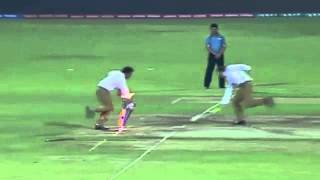 Commentators Pollock, Daren,Russel, re create the Dhoni moment vs BAN WT20 Last Ball Run OUT 1