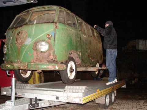 T1 Vw Bus Barndoor 1951 Youtube