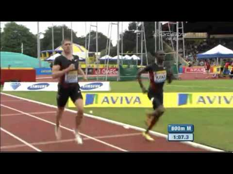 Men's 800 m Diamond League Aviva Birmingham Grand Prix 2011