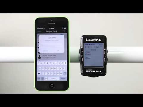 Lezyne Year 10 GPS: Lezyne Track Deutsch