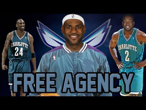 NBA 2K14 PS4 Charlotte Hornets My GM Ep. 7 - FREE AGENCY!!!