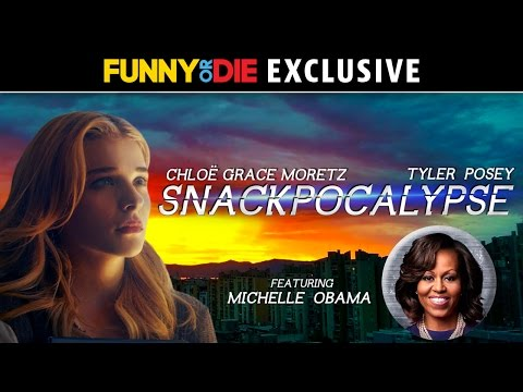 SNACKPOCALYPSE with Chloe Grace Moretz, Tyler Posey, and First Lady Michelle Obama