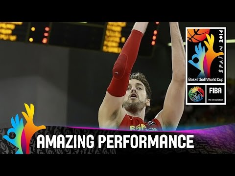 Pau Gasol - Amazing Performance - 2014 FIBA Basketball World Cup