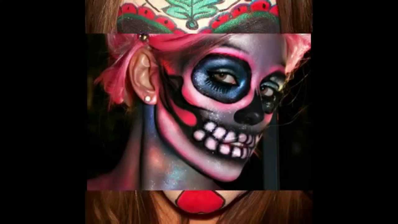 Sugar Skull Make-up Ideas For