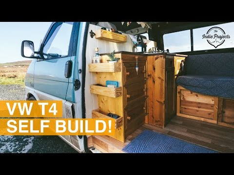 Two Girls in a Tintop - Self Build VW T4 Campervan!