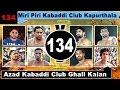 Miri Piri Club Kapurthala Vs Azad Kabaddi Club Ghall Kalan Best Match in Panni Wala mp3 indir