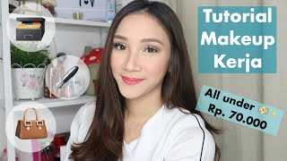 TUTORIAL MAKEUP KERJA | WARDAH ONE BRAND TUTORIAL