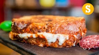 Epic Pizza Grilled Cheese Recipe