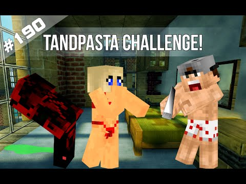 Minecraft Survival #190 - TANDPASTA CHALLENGE!
