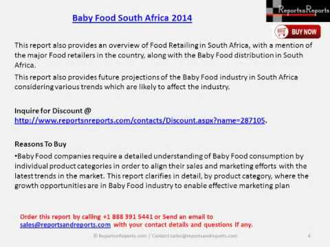 2019 South Africa Baby Food Market
