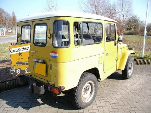 FJ40 BJ42 Toyota LandCruiser restoration - Pictures.wmv