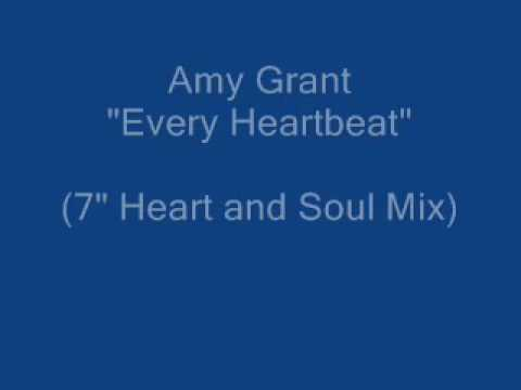 """Amy Grant """"Every Heartbeat"""" (full 7"""" Heart and Soul Mix) original radio mix!"""