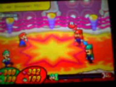 mario y luigi bowser inside story bosses part 1