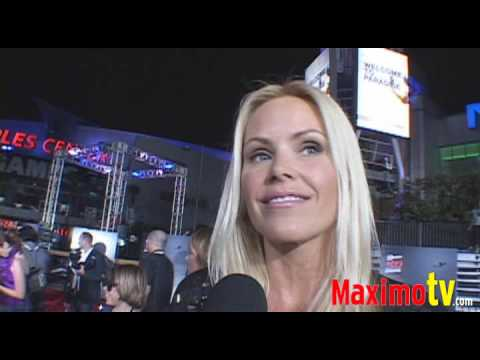 GENA LEE NOLIN at 'X-GAMES 3D: the Movie' Premiere July 30, 2009