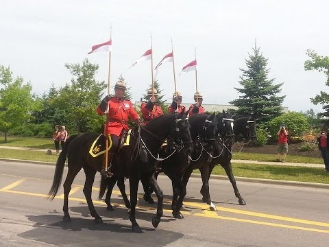 RCMP Memorial Parade - Moncton, N.B