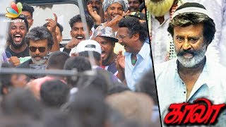 Rajinikanth's Kaala Intro Song Shooting at Dharavi, Mumbai |  Hot Tamil Cinema News