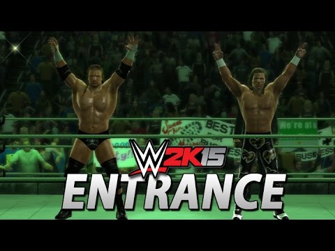 WWE 2K15: D-Generation X Entrance & Tag Team Finisher!