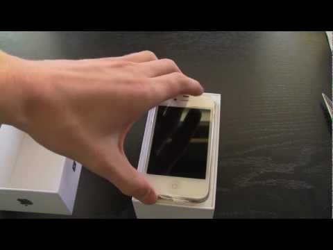 iPhone 4S Unboxing (White 64GB)