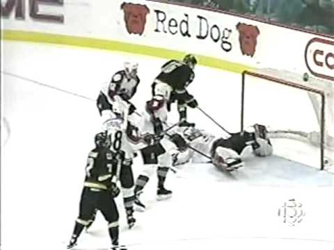 Joe Sakic and Trevor Linden 1996 Playoffs Hat Tricks Video
