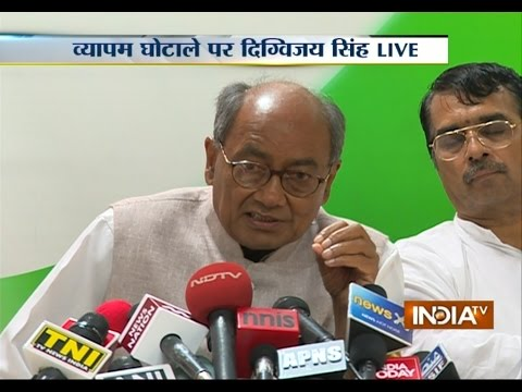 Vyapam scam: Only option left is to approach SC, says Digvijay Singh | India Tv