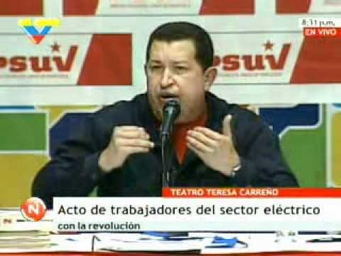Chávez: Trabajadores revolucionarios deben tomar el control total del espacio eléctrico