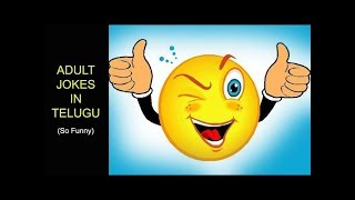 Adult Jokes in Telugu || So Funny