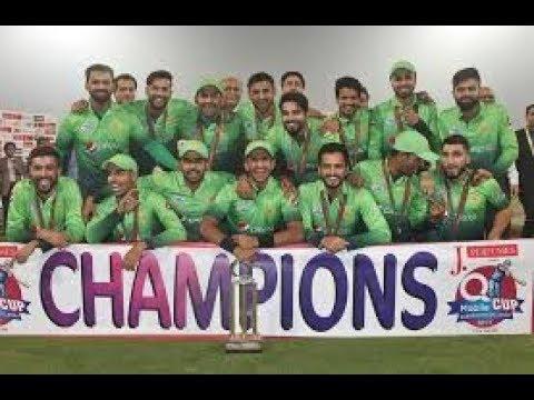 New pakistani team 2018 song thumbnail