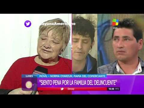 Conmovedor testimonio de la madre del carnicero: Mi hijo no es un asesino