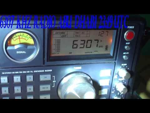 6307 kHz Radio Abu Dhabi - Netherlands receved 9.200 KM in Brazil
