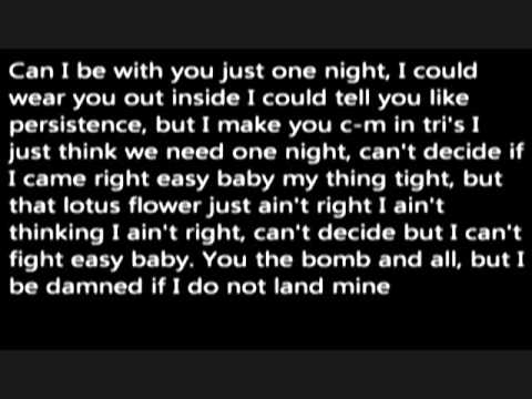 Wale Lotus Flower Bomb Lyrics Feat Miguel Youtube
