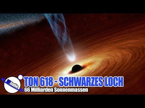 Das gewaltigste Schwarze Loch im Universum - TON 618