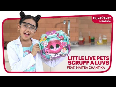 Unboxing Little Live Pets: Mainan Hewan Ajaib Feat. Maitsa Chantika | BukaPaket For Kids