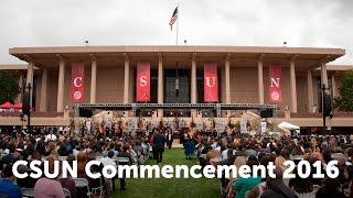 CSUN Commencement 2016: Honors Convocation