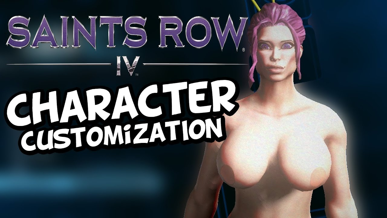 Saints row 3: naked female character xxx scenes