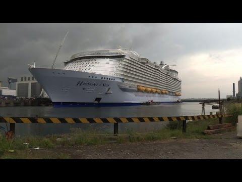 World's biggest cruise ship delivered in France