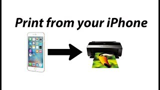 How to print from your iPhone or iPad