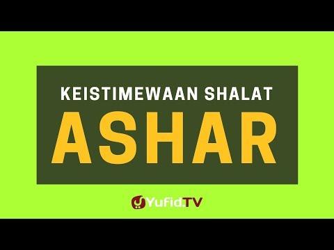 Keistimewaan Shalat Ashar
