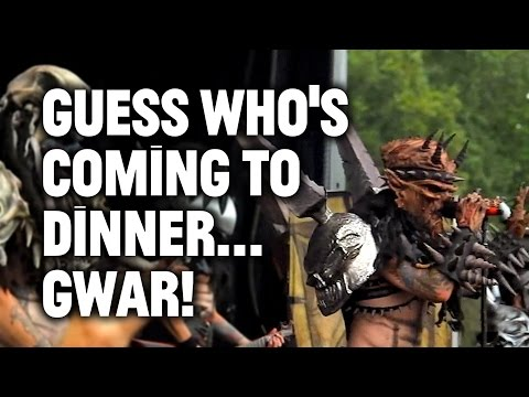 Gwar, Heavy Metal Legends, Barbaric Space Warriors, Open a Restaurant!