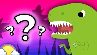 Dinosaur Game for Kids #2! | CheeriToons