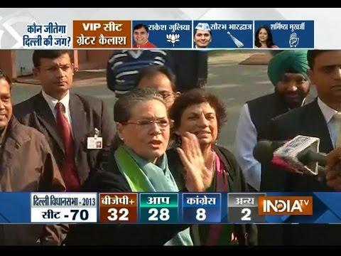 Delhi Polls : Voting picks up in capital