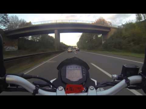 KTM 390 Duke Testride