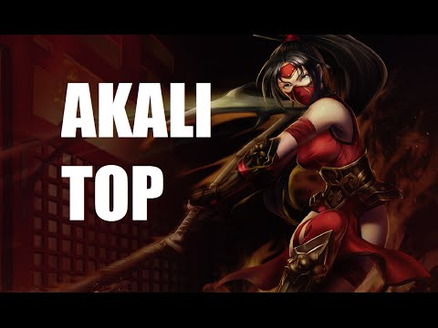 League of Legends Ranked - Akali Top - Full Game Commentary