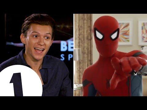 "Download ""I'm a walking meme!"": Spider-Man's Tom Holland on the 'Quackson Klaxon'. Mp4 baru"
