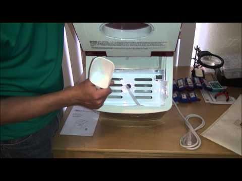 Salton Countertop Ice Maker : Salton Ice Cube Maker-Indepth Review & Demonstration How To Save ...
