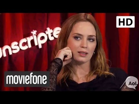 Unscripted with Matt Damon and Emily Blunt | Moviefone Unscripted