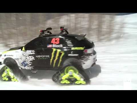 DC SHOES: KEN BLOCK'S TRAX STI CAR