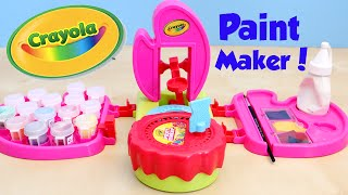 Crayola Pink Paint Maker DIY Make Your Own Paint Art Set