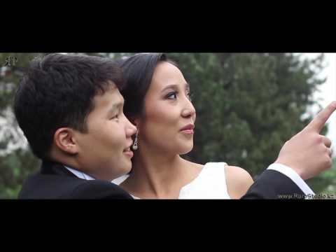 Свадебная видеосъемка в Алматы.Красивая свадьба Жомарта и Айкерим.RproStudio